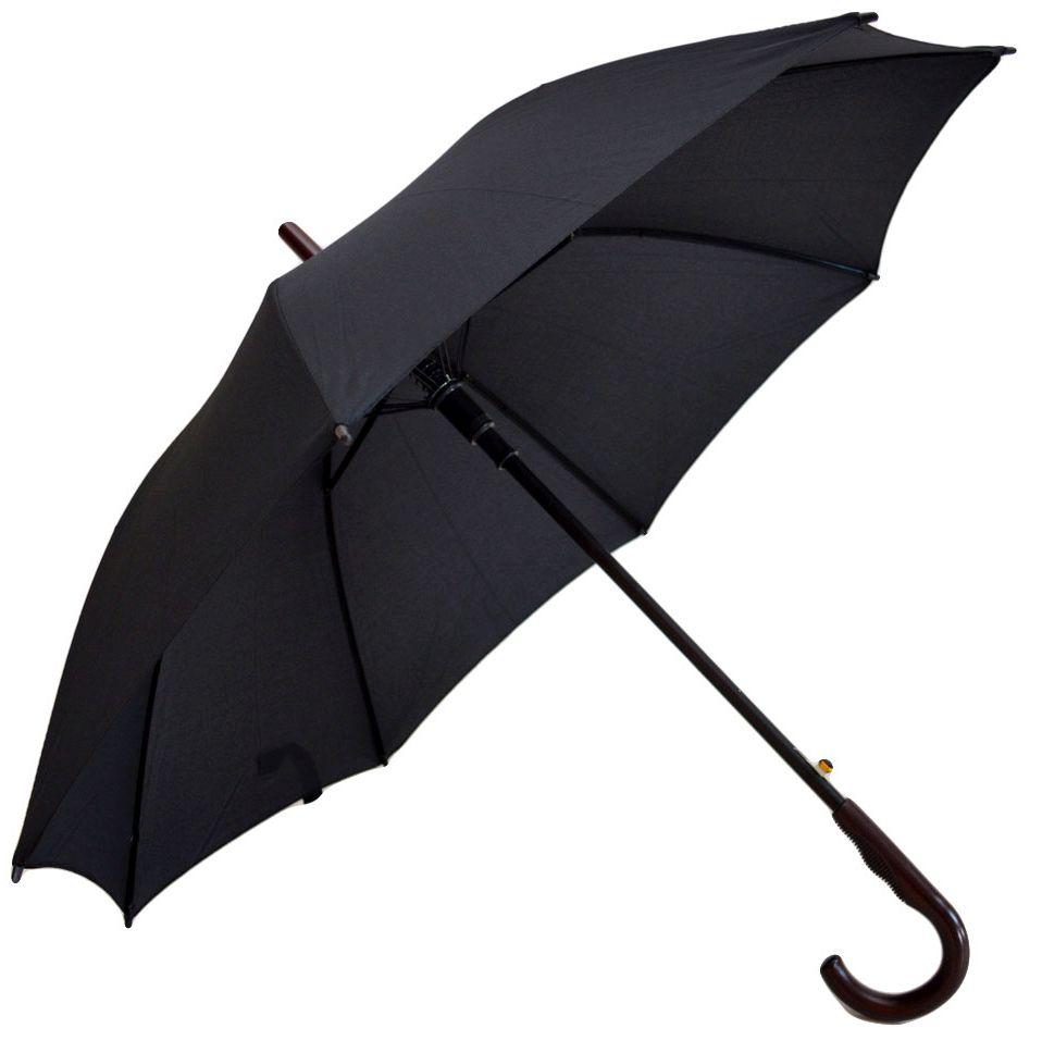 Umbrela Unisex ICONICUL automata neagra 110cm diametru - articulatii anti-vant