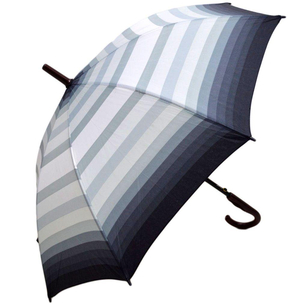 Umbrela Unisex ICONICUL automata gri multicolor 110cm diametru - anti-vant
