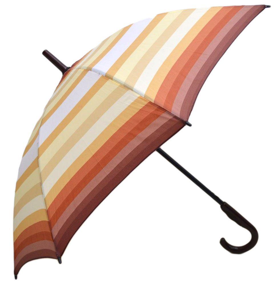 Umbrela Unisex ICONICUL automata Orange multicolor 110cm diametru - anti-vant