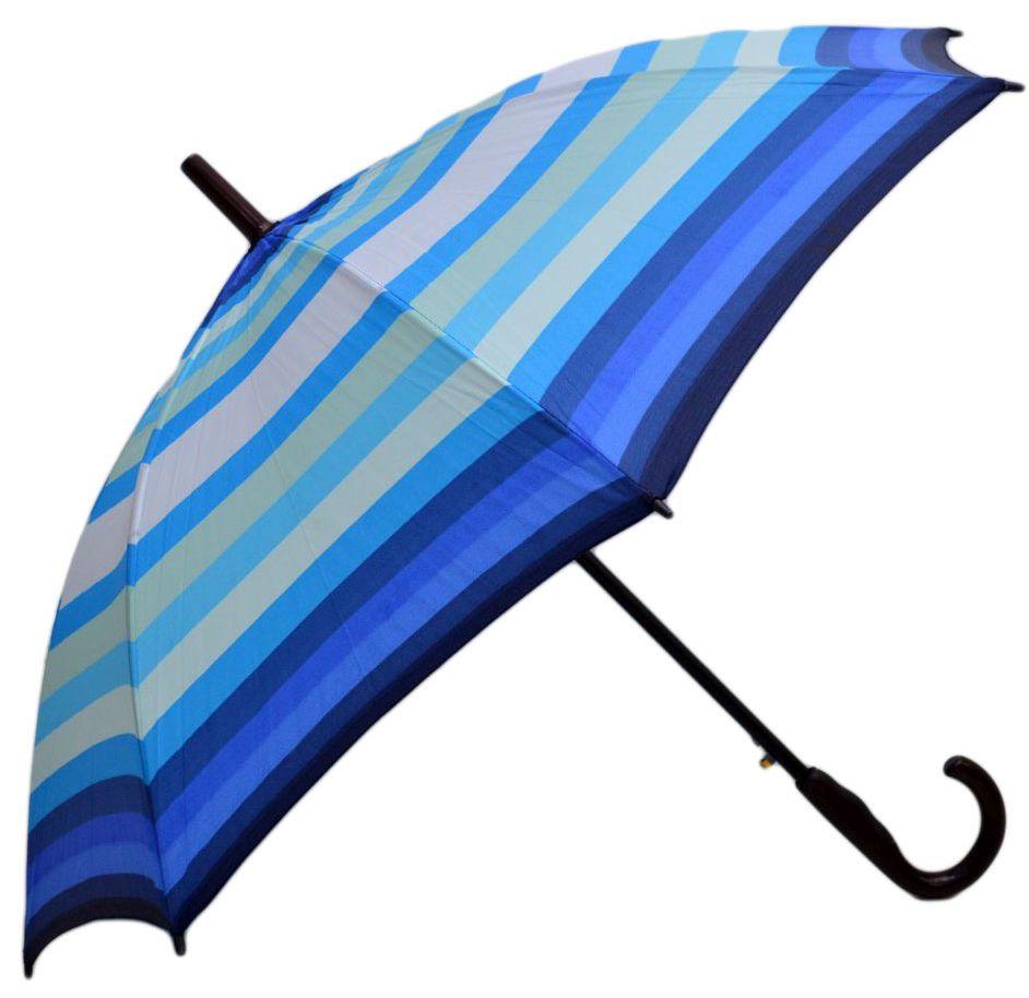 Umbrela unisex ICONIC automata Bleu multicolor 110cm diametru - anti-vant